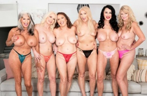 Free Mature Lesbian Orgy Sex Pics